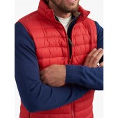 Joules Go To Lightweight Gilet, Chilli Pepper Red