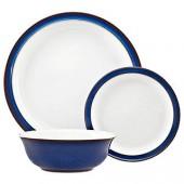 Denby Imperial Blue Dinnerware Set, 12 Piece