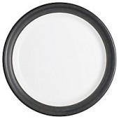 Denby Natural Charcoal Medium Plate, Dia.23cm