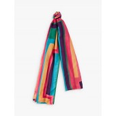Paul Smith Rainbow Stripe Scarf, Multi