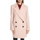 Wool Boucle Coat