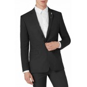 Skinny Fit One-Button Suit Jacket
