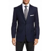 Classic Fit Solid Wool Sport Coat