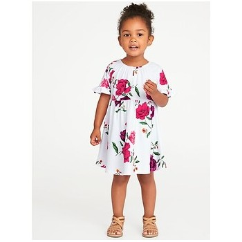Fit & Flare Jersey Dress for Toddler Girls Hot Deal