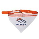 Pets First Denver Broncos Collar Bandana