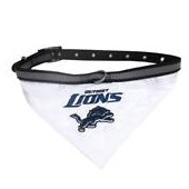 Pets First Detroit Lions Collar Bandana