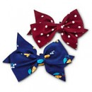 Bond & Co. Dot and Floral Dog Bows