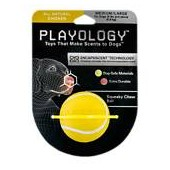 Playology Squeaky Chew Ball Dog Toy Chicken Scent