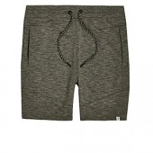 Jack & Jones green drawstring sweatshorts