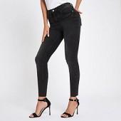 Black Rl Harper ankle grazer jeans
