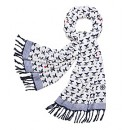 WHALE-TAIL OBLONG SCARF