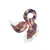 TIGER LILY OVERSIZED SILK SQUARE