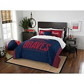 MLB Atlanta Braves Grand Slam Twin Comforter Set