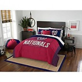 MLB Washington Nationals Grand Slam Twin Comforter Set