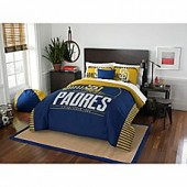 MLB San Diego Padres Grand Slam Full/Queen Comforter Set
