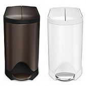 simplehuman 10-liter Butterfly Step Trash Can