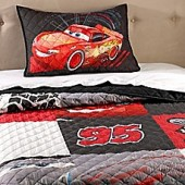 Disney Pixar Cars 2-Piece Twin/Full Quilt Set