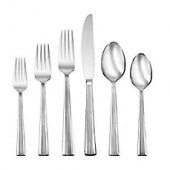 Oneida Corbett 114-Piece Flatware Set