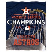 MLB Houston Astros 2017 World Series Champions Throw Blanket