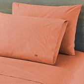 Lactose Solid Washed Percale 300-Thread-Count Pillowcases (Set of 2)