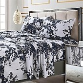 Tribeca Living Milan 300-Thread-Count Pillowcase in Navy (Set of 2)