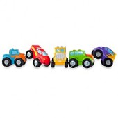Elegant Baby Monster Truck Party Bath Squirties