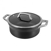 Zwilling J.A. Henckels Motion Nonstick Hard-Anodized Dutch Oven in Grey