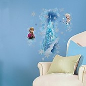 RoomMates Disney Frozen Ice Palace Peel and Stick Giant Wall Decals
