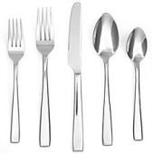 Cambridge Silversmiths Logan Mirror 40-Piece Flatware Set (Service for 8)