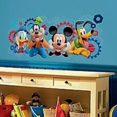 Disney Mickey Mouse Clubhouse Capers Giant Peel and Stick Wall Decal