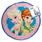 Disney Frozen Perfect Day Round Decorative Throw Pillow