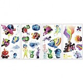 York Wallcoverings Disney Pixar Inside Out Peel and Stick Wall Decals (Set of 27)