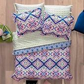 Aeropostale Kaleidoscope 7-Piece Reversible Comforter Set in Pink/Blue