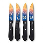MLB 4-Piece Stainless Steel Steak Knife Set