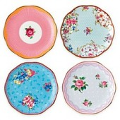 Royal Albert Candy Mini Plates (Set of 4)
