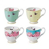 Miranda Kerr for Royal Albert Friendship Mugs (Set of 4)