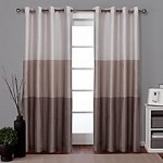 Chateau Grommet Top Window Curtain Panel Pair