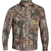 Under Armour Mens UA Chesapeake LS Camo Shirt