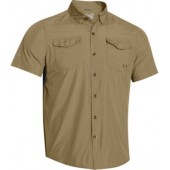 Under Armour Mens UA Iso-Chill Flats Guide SS Shirt