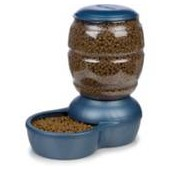 Petmate Replendish Gravity Feeder Blue Dog Bowl