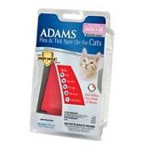 Adams Flea & Tick Spot On with Smart Shield Applicator for Cats & Kittens, 2.5 to 5 lbs.