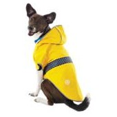 Good2Go Reversible Dog Raincoat in Yellow