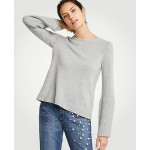 Wide Rib Sleeve Sweater