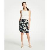 The Drawstring Skirt in Chinoiserie Tropics