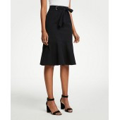 Tie Waist Flounce Skirt