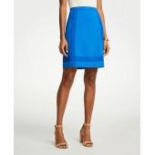Lace Trim A-Line Skirt