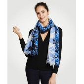 Floral Toile Scarf