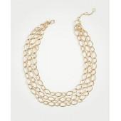Triple Chain Link Necklace