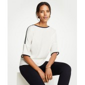 Contrast Tipped Tee