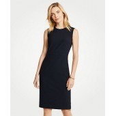 Seasonless Stretch Sleeveless Sheath Dress